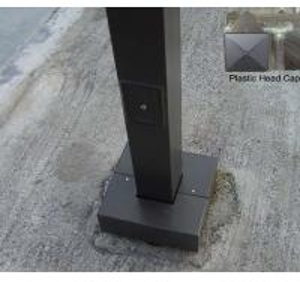 China Standard square lighting column wholesale