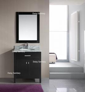 China European Style Modern Vanity Set , Safe And Integrate Modern Single Sink Vanity wholesale