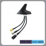 "China Round Shape Car Gsm Gps Antenna , AM FM Car Antenna 12"" Cable Length wholesale"