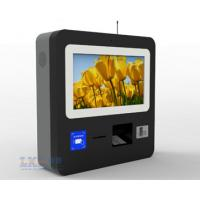 China Supermarkets Wall Mounted Kiosk , Touchscreen Contactless Card Reader Tabletop wholesale