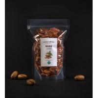 China One Way Valve Custom Made Foil Coffee Bean Package Bags Clear / Transparent on sale
