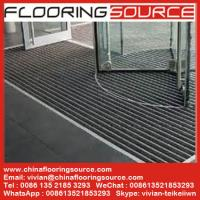 China Commercial Building Aluminium Entrance Mats Outdoor Recessed Mat Architectural Matting wholesale