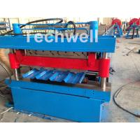 China Roof / Wall Panel Double Deck Roll Forming Machine , Double Layer Roll Former wholesale