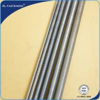 China Zinc Plated Threaded Rod Din 976 , Carbon Steel Threaded Rod Din 975 wholesale