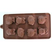 China China Wholesale Lovely Animal Shape Silicone Cake Mold FDA Ice Tray wholesale