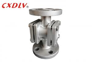 China Water Flow Indicator Flanged Sight Glass 3/4 Investment Casting Cf3m wholesale