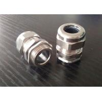 China Flameproof PG16 Cable Gland , Stainless Steel Wire Armoured Cable Glands wholesale