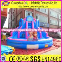 China Frozen Inflatable Water Slide For Kids wholesale