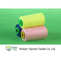 Strong Polyester Industrial Sewing Threads , Polyester Embroidery Thread Spool
