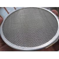 China Stainless Coffee / Tea / Oil Filter Disc / Filter Wire Mesh High Filter Rating wholesale