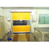 Automatic Industrial High Speed Shutter Door Colorful PVC Curtain
