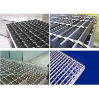 China Trench Covers Stainless Steel Bar Grating Pvc Coated 20X5mm Bar High Bearing Structure wholesale