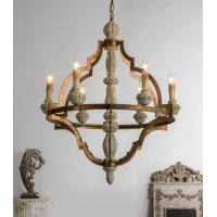 China Wood lantern chandelier pendant Lights Fixures (WH-CI-60) on sale