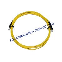 China Singlemode LSZH Jacket Fiber Optic Patch Cord Simplex / Duplex FC / UPC wholesale