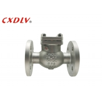 China CF8 Flange Ends One Way DN300 Swing Check Valve wholesale