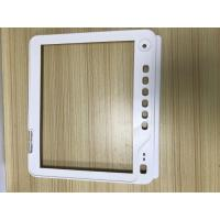 China High Precision Medical Plastic Molding White Color Square Shape Texture Surface wholesale
