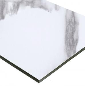 China Curtain Wall AA1100 4mm Marble Aluminum Composite Panel wholesale