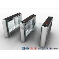 China Anti - Collision Walk Through Metal Swing Barrier Gate Bus Station Card Reader System wholesale