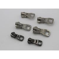 Buy cheap Silver Color Coat Zipper Pull Replacement Parts , Zinc - Alloy Metal Zipper Slider from wholesalers