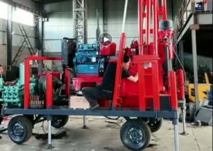 China Portable Hydraulic Xy-2 400m Crawler Mounted Drill Rig Equipment With Wheels wholesale