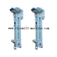 China DTG36 / 18 Iron White Bucket Elevator Conveyor For Rice Mill Plant wholesale
