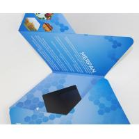 Buy cheap 7 inch TFT Flip Book Video for Advertising , video booklet with 2G memory from wholesalers