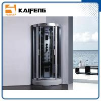 900 Quadrant Steam Shower Cabin , Shower Steam Room Enclosures With Ceiling Light