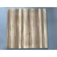 China Professional Wooden Flat PVC Ceiling Tiles With Stable Material 595mm / 603mm wholesale