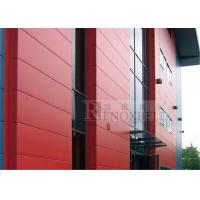 China 1.5mm / 2mm / 2.5mm / 3mm / 4mm Aluminium Wall Panels In Red wholesale