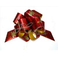 China TW  HK Christmas Gift Wrapping POM POM Pull Bows on sale