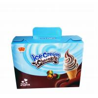 China Fancy and Crisp Chocolate Candy Crisp Ice Cream Shaped Chocolate Dessert Cups wholesale