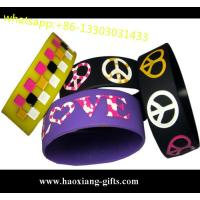 China High quality cheap price promotional silicone bracelets/wristband with custom logo wholesale