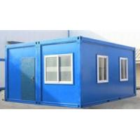 China Steel Single Story In Line Storage Container Houses With International Standards wholesale