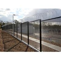 China Powder Coated 358 Security Fence Jail Fence For Sale With High Quality on sale