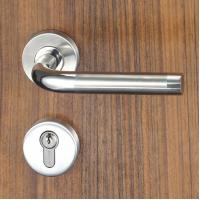 China 3 Brass Keys Mortise Door Lock Set Escutcheon Lock for Entrance , Passage wholesale