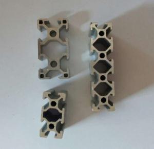 China Silvery Anodized Industrial Aluminium Profile , Aluminium Alloy 6063 Extrusion wholesale