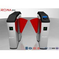 China Red Soft Flap Barrier Gate Access Control Turnstile Single / Bi - Directional wholesale