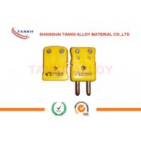 Wholesale IEC standard Thermocouple Cable , Solid Pin k thermocouple connector from china suppliers