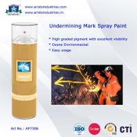 China Undermining Mark Spray Paint / Mine Marking Out Paint & Non-Flammable Layout Marker wholesale