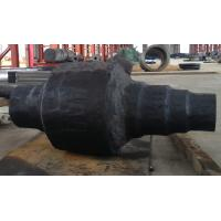 China Metal Blank Forged Steel Shaft Open Die Forging Casting OD 2500mm wholesale