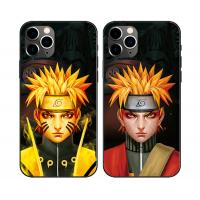 China Flips Effect 3D Lenticular Phone Case For Iphone 11 ,Plastic 3D Lenticular Cell Phone Case Of Anime wholesale