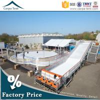 Quality Waterproof PVC Coated Exhibition Tents , 600 Seater Outdoor Event Tents for sale