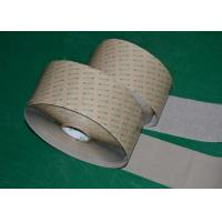 China Wood 100% Nylon Adhesive Hook And Loop Tape Roll 5 Self Adhesive White 10 mm wholesale
