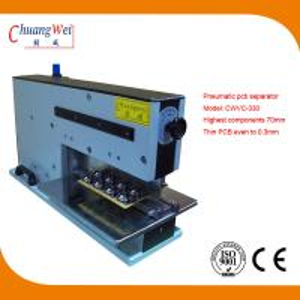 China 110V 220V 10W Pneumatic V-Cutting Machine 620 * 230 * 400mm wholesale