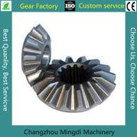 China OEM ODM Precision Hobbing Steel Straight Bevel Gear 2 Or 3 Ratio wholesale