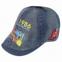 China Embroidered Military/Baseball Cap, Available in Various Colors wholesale