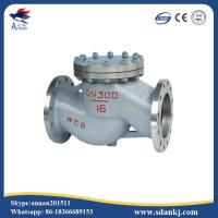 China High quality flanged swing GB lift stainless steel water check valve with low price on sale