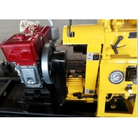 China 150 Meters Depth 380V Diesel Engine Portable Borewell Drilling Machine XY-1A wholesale