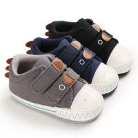 China Hot selling Canvas sport Cute soft 0-2 years boy girl outdoor sneaker baby shoes boy on sale