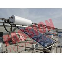 China 6 Bar Heat Pipe Solar Water Heater Pressurized SUS304 Stainless Steel wholesale